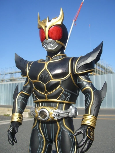 Preview: Megaton Sofubi Kamen Rider Kuuga Ultimate Form Large ...