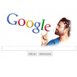 Dai Google Customised Google homepage For RajNikant