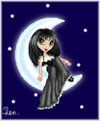 Recostada en la luna