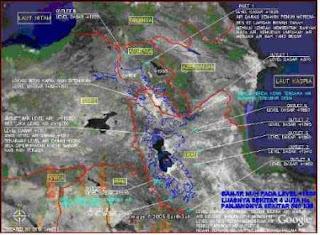 Peta Lokasi Perahu Nabi Nuh