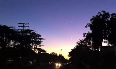 Blog Misteri Hawkson Update Ufo Santa Monica Callifornia Silver