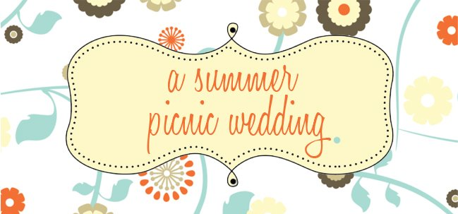 A Summer Picnic Wedding
