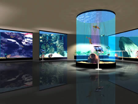 Acquario virtuale mare nostrum a roma gratta mi for Acquario in casa