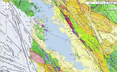 Covertress Geologic Map Of California - California geologic map