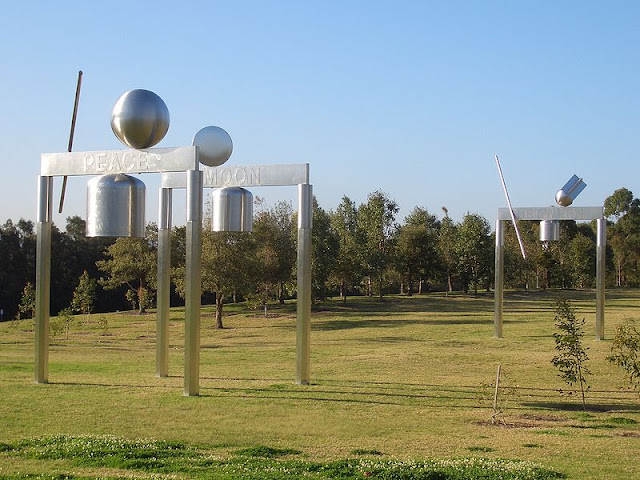 The Peace Monument Is A Contemporary Sculpture In Bicentennial Park At Homebush Bay It Was Commissioned To Celebrate International Year Of