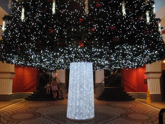 Sydney - City and Suburbs: Queen Victoria Building, Christmas Tree