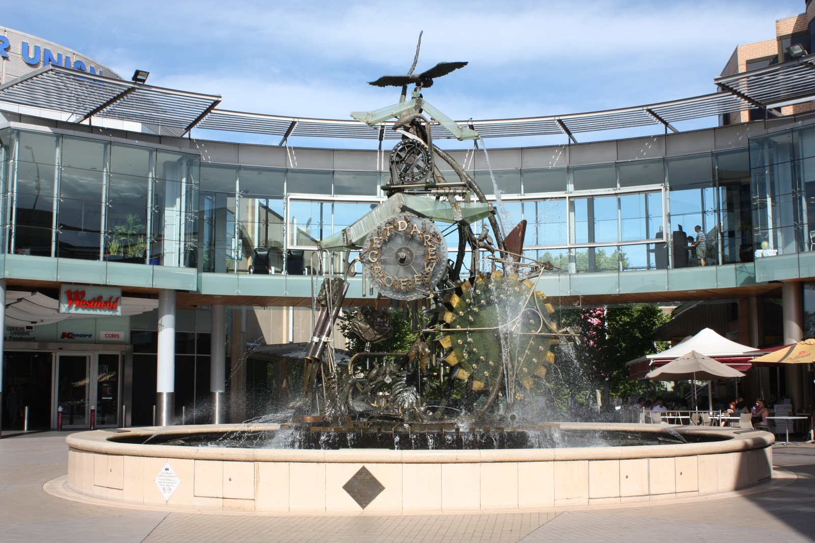 Sydney - City and Suburbs: Hornsby, water clock (Theme Day ... Hornsby