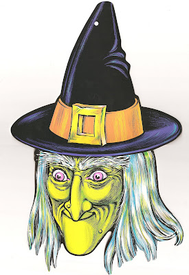 The haunted closet beistle company halloween cutouts for 3 witches halloween decoration