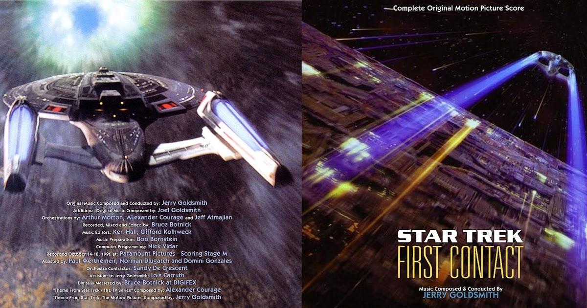 STAR TREK: FIRST CONTACT Complete Score - Jerry …