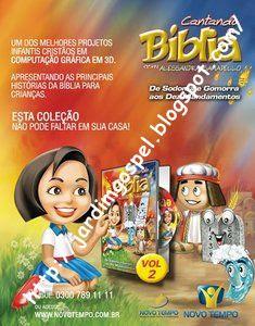 cantandobiblia2 DVD Alessandra Samadello   Cantando a Bíblia 2