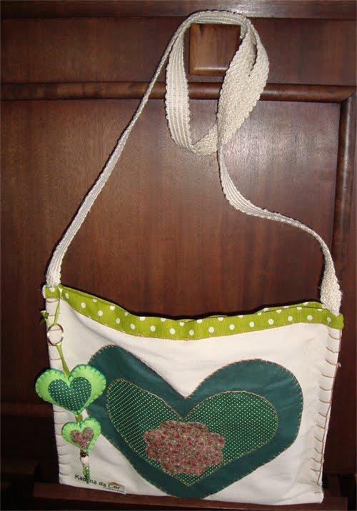 Bolsa de tecido tiracolo : Kabana da cor bolsa de tecido tipo tiracolo