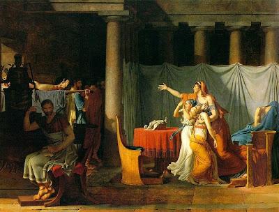 Boccanegra: (52) JACQUES-LOUIS DAVID: el arte como propaganda política.