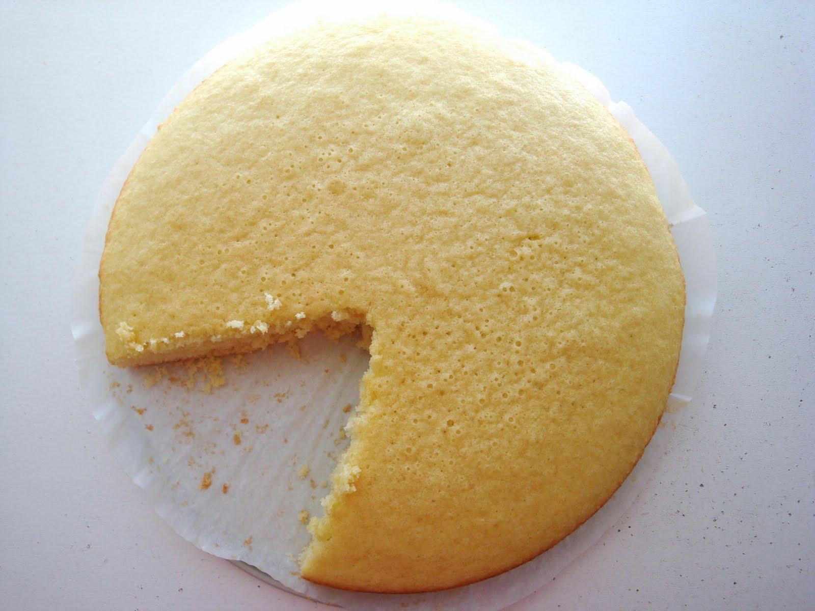 Daily Doses Of Sugar Hot Milk Sponge Cake