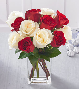 honored request httpwww streetdirectory White roses dozen