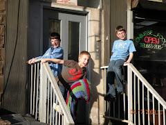 Evan (10) Jonah (8) Noah (12)