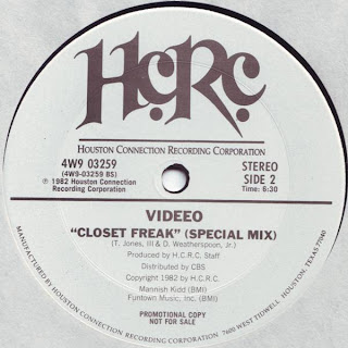 Videeo - Closet freak 1982 12 Inch (special mix)