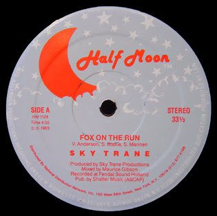 Sky Trane  -  Fox On The Run 12 Inch 1983