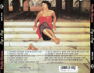 Phyllis Hyman   -  Sing a Song  1978 CD