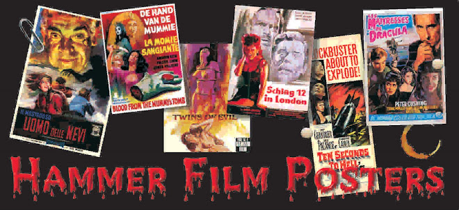 Hammer Film Posters
