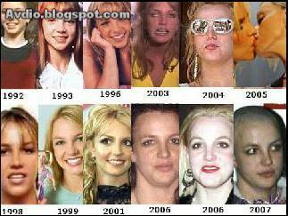 小甜甜布蘭妮的進化史 Britney