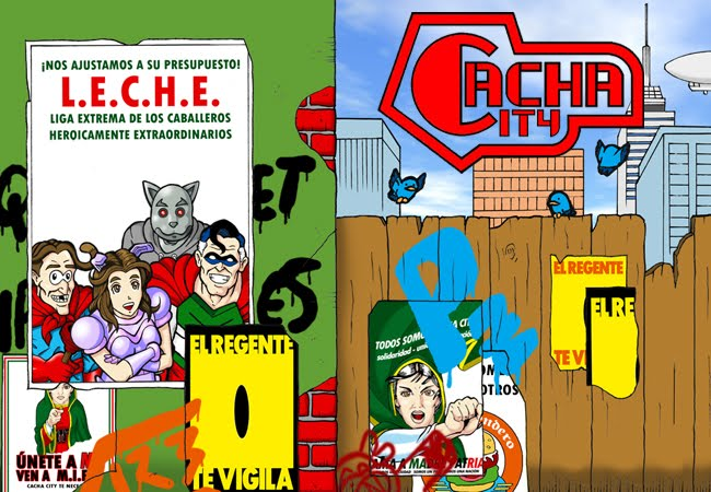 Cacha City: El Cómic
