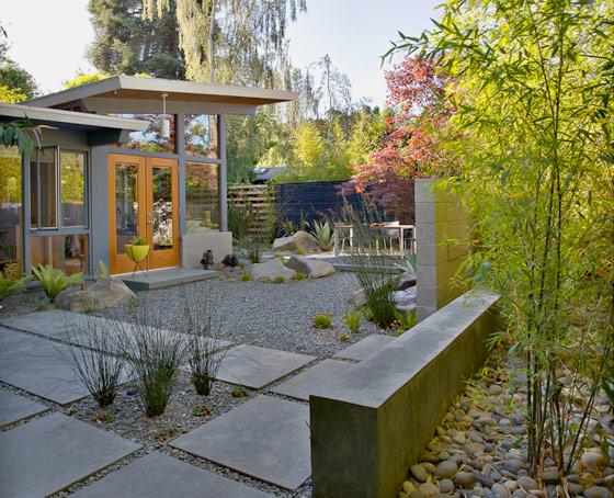 scorpio nvantruc  modern landscaping by bernard trainor   associates