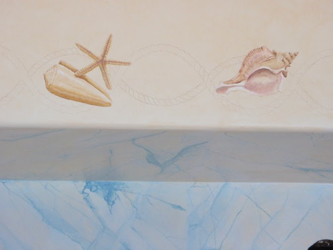 Caracoles y estrella de mar