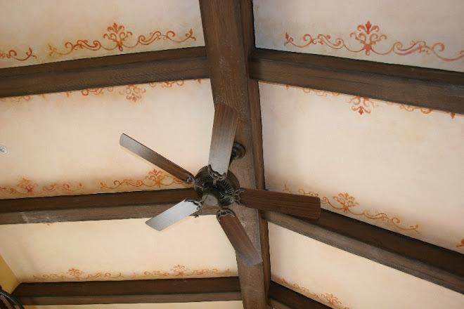 Techo y vigas / Ceiling and beams