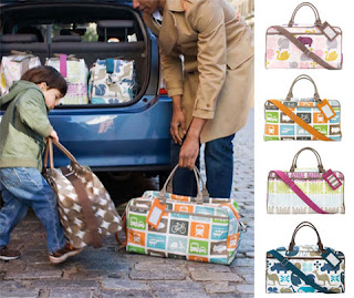 dwellstudio weekender bags baby steals deal ectable