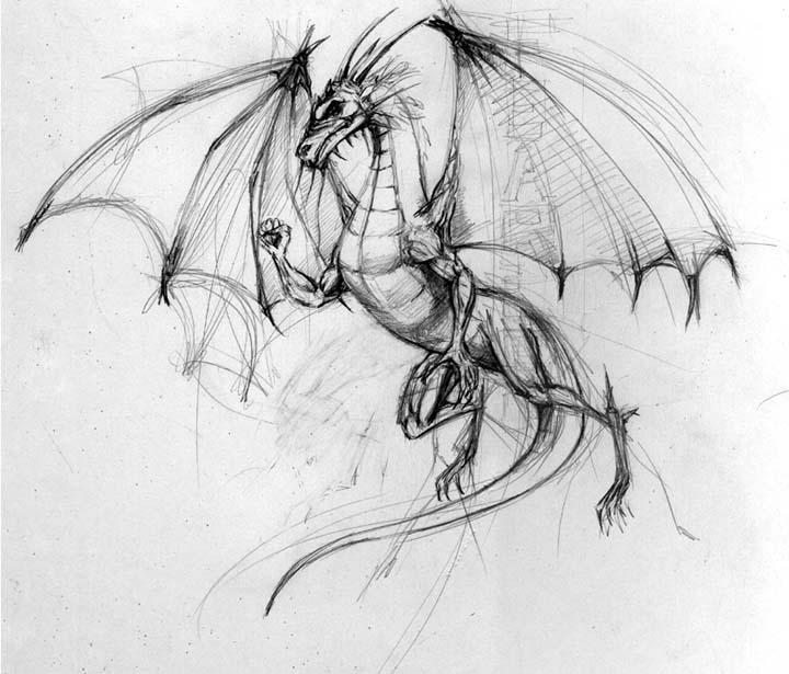 Dragon Drawings: Skulls, Steam, And Magic: My Top Ten