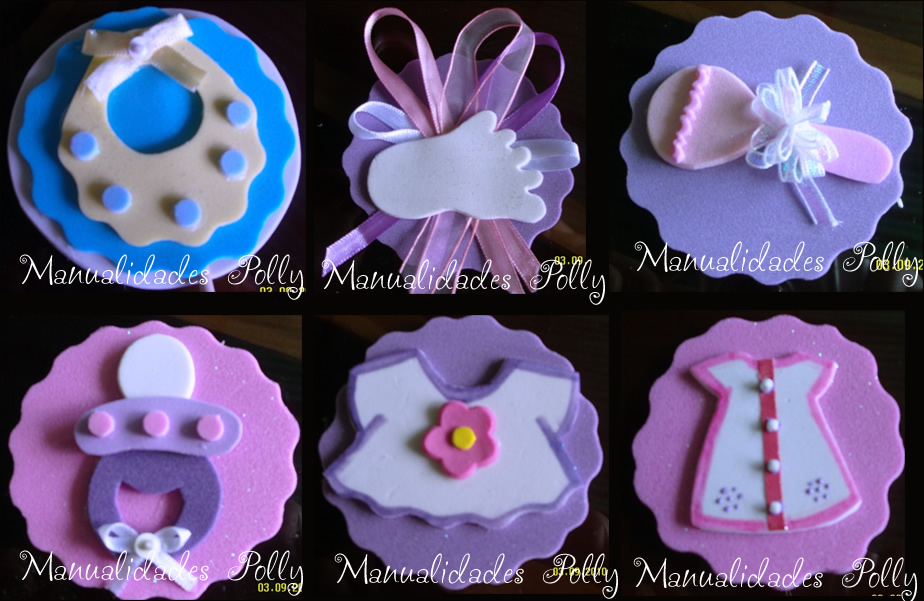 Baby Shower  Recuerdos O Distintivos