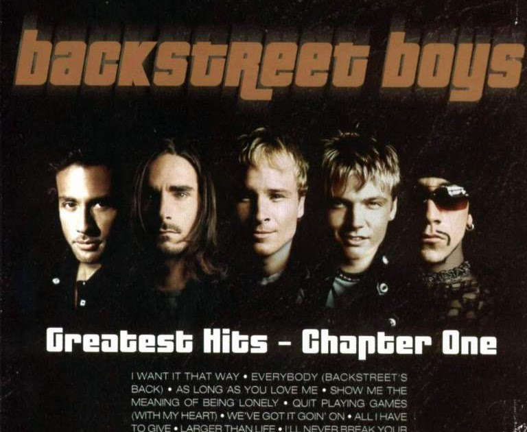 Backstreet Boys Greatest Hits Chapter One Details