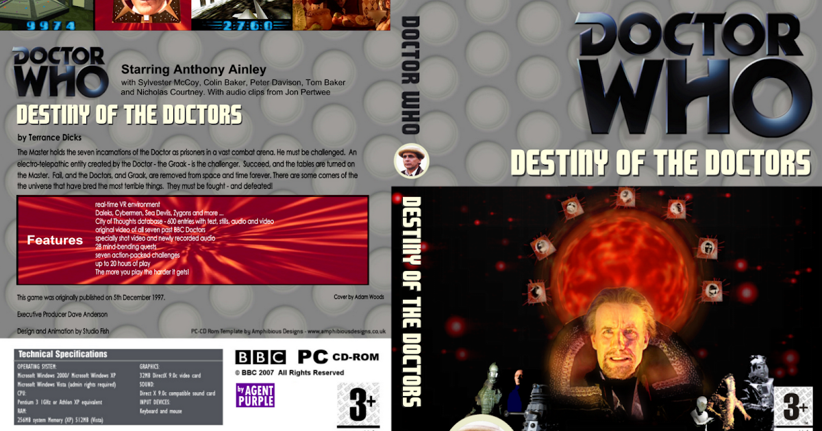 doctor who fan story edits and artwork  destiny of the
