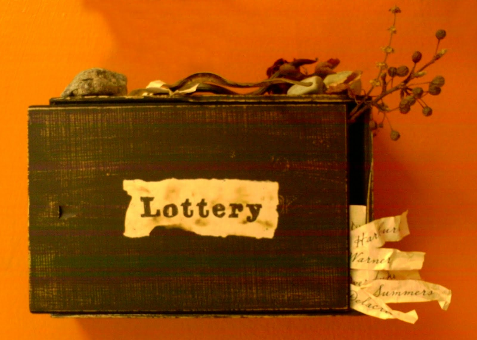 the slips of fate in the lottery by shirley jackson Get everything you need to know about the marked slip of paper in the lottery the lottery by shirley jackson that determines the fate of a person.