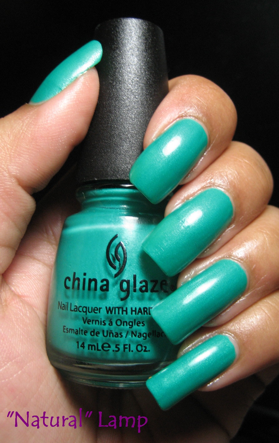 My Simple Little Pleasures: NOTD: China Glaze Turned Up Turquoise + ...