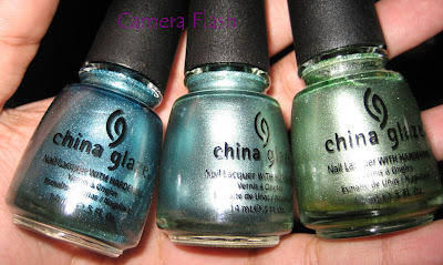 China Glaze - Adore, Metallic Muse, Cherish