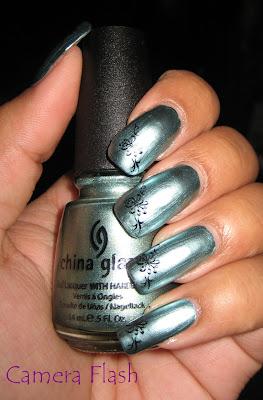 China Glaze Metallic Muse - Konad plate m67