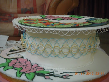 oriental-stringworks wedding cake