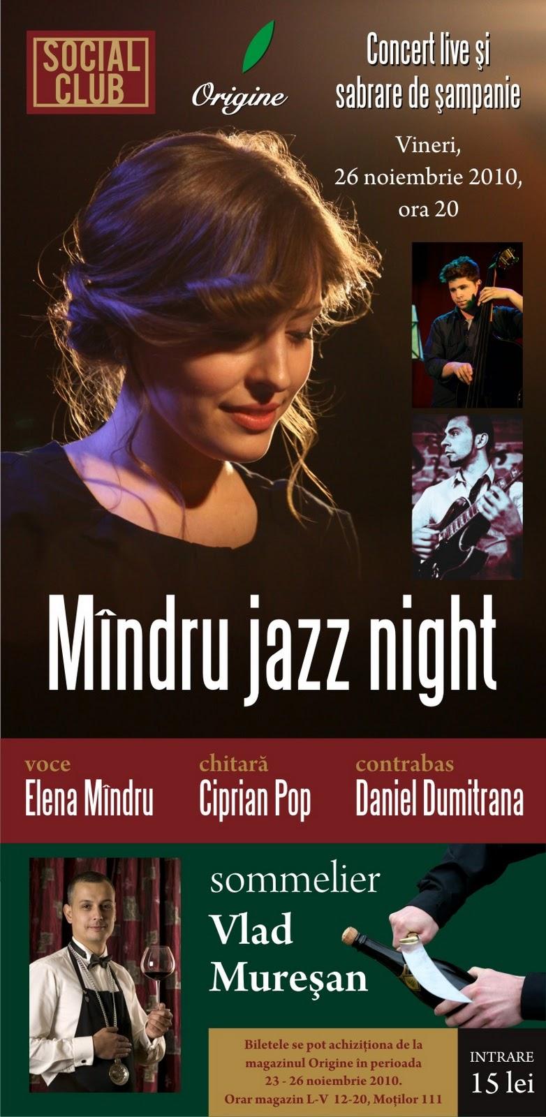 Mindru Jazz Night