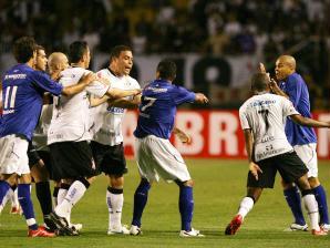 Foram  Vitorias Do Corinthians  Empates E  Triunfos Do Cruzeiro Ao Todo O Corinthians Assinalou  Gols Contra  Do Cruzeiro