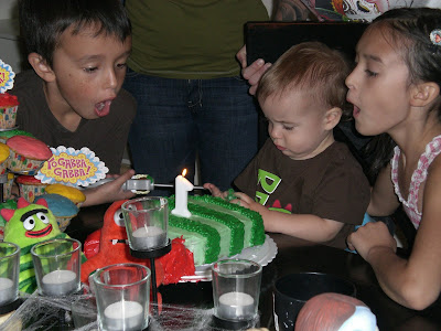 Hudson's 1st Birthday - October 29, 2008