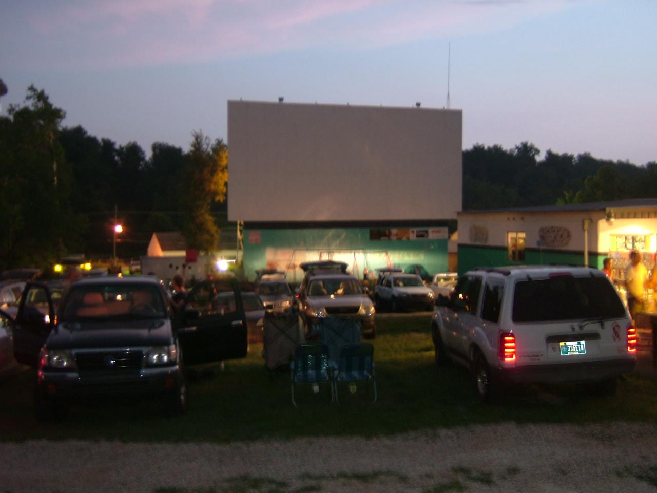 Peppermint twists georgetown in drive in movie theater for Georgetown movie theater
