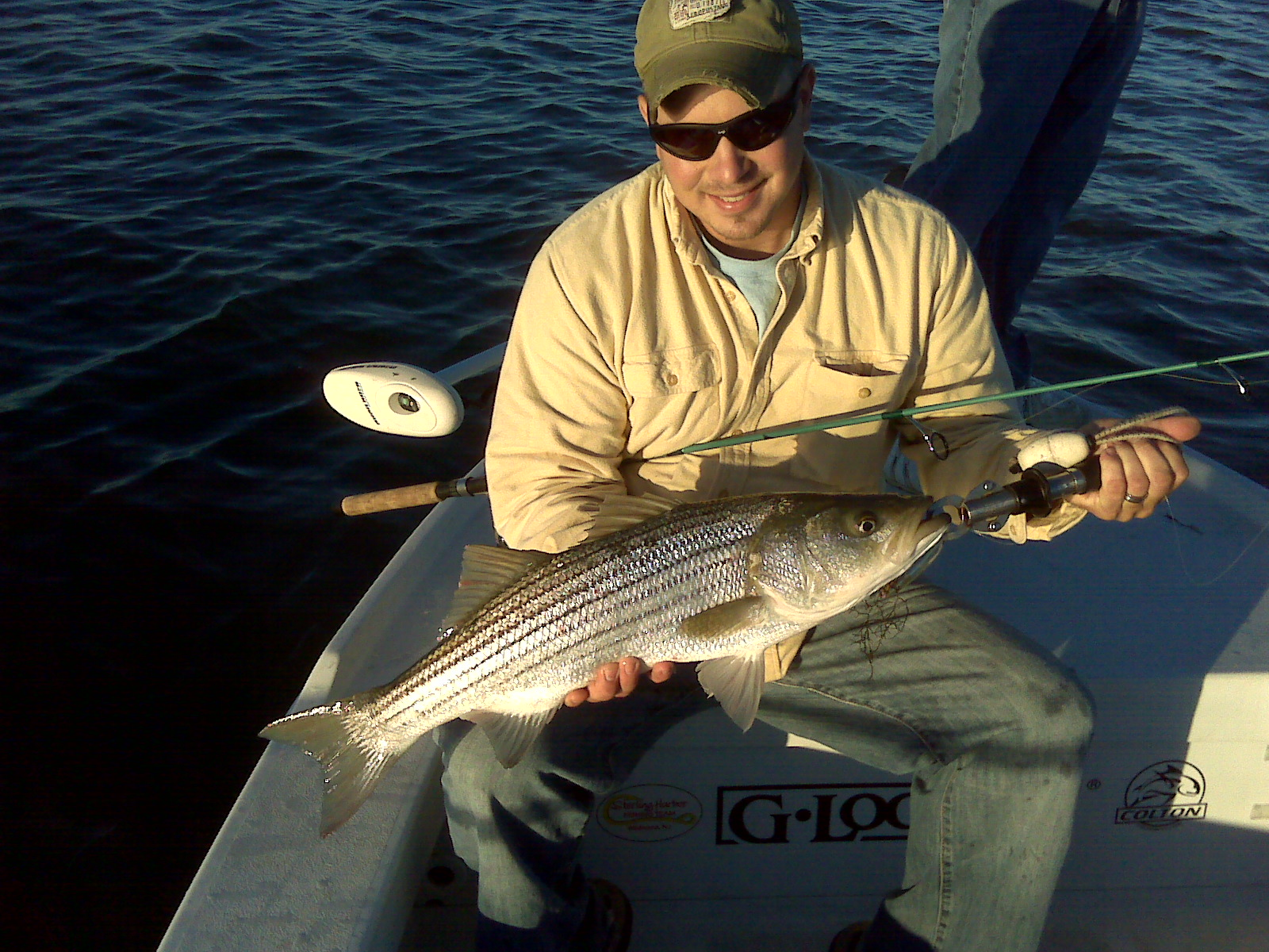 Insomniac guide service g loomis pro staff fishing report for Fishing pro staff