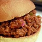ground fried beef bbq sauce Amazing Sloppy joes