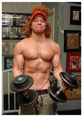 Plastic Surgery Before And After: Carrot Top Plastic Surgery