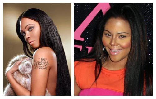 before and after lil kim. Lil Kim Before And After