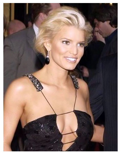 fake Jessica boobs simpson