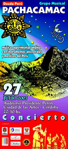 GIRA ARGENTINA 2007