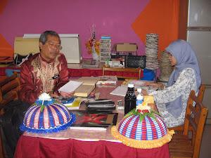 Kunjungan Pengetua Meninjau Perkembangan Program