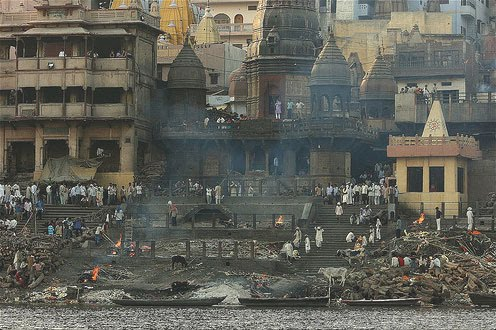 Burning Ghats at Varanasi